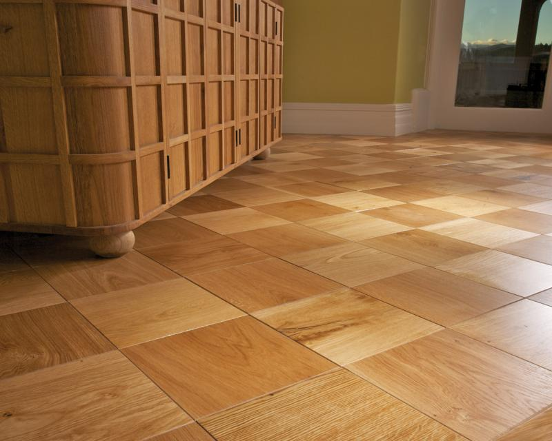 Ted todd chequer squares 3 ply european oak engineered for Commercial hardwood flooring